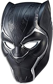 Marvel Black Panther - Avengers - T Challa Electronic Helmet with Lights & Sounds - Collectible Legends Series - Ages 18+