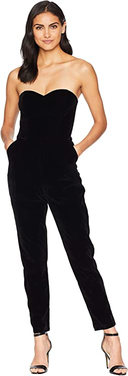 Hayden Woven Strapless Jumpsuit