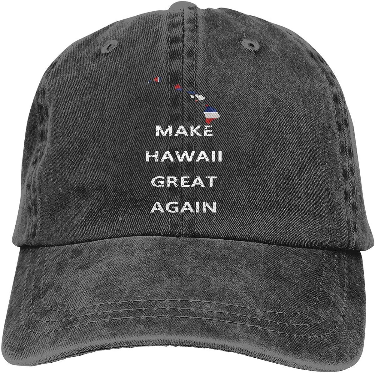 XXINNKQFWY Make Hawaii Great Again Adjustable Baseball Cap Dad Hat Trucker Cap