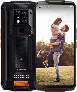 OUKITEL WP7 防水スマートフォン 8000mAh大容量バッテリー 18W急速充電 48MP AIカメラ+8MP 赤外線暗視カメラ アウトドアスマホ本体 128GB/6GB Android 10 6.53インチ FHD+ simフリー ...