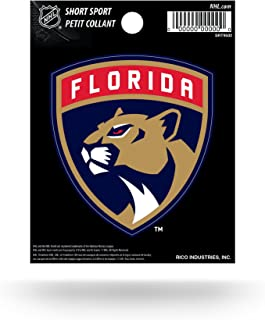 Rico Industries NHL Florida Panthers Short Sport Decal