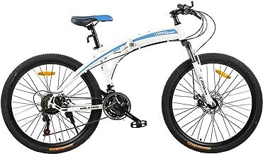Fitness Minutes Folding Bike, White, FM-F26-02S-WH