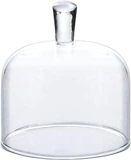 東洋佐々木ガラス ミニドーム 花かざり クリア 約φ6.5×7.1cm