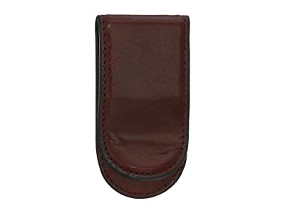 Bosca Old Leather Collection Leather Covered Money Clip
