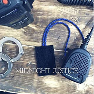 THE MIC LOOP - Keeps Portable Radio Mic in Place for Police/Law Enforcement Midnight Justice