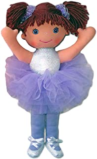 """Anico Well Made Play Doll For Children Ballerina with Pigtails, 18"""" Tall, Lavender"""