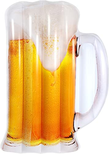 EODUDO-S Siège Gonflable de Flotteur de Piscine de bière de PVC pour la Piscine de Jouet de Flotteur de Garçons de Filles d'enfants d'enfants Adultes Plus de Styles