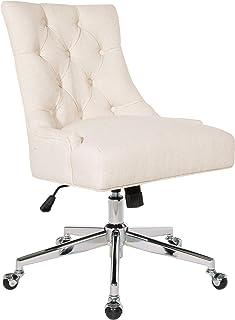 OSP Home Furnishings Amelia Office Chair, Linen