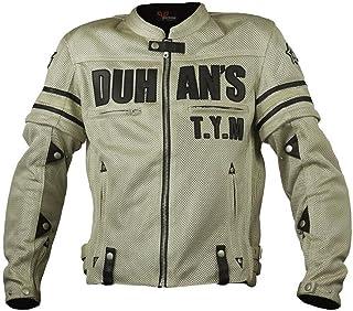 DUHAN(ドゥーハン) バイクジャケット ライディングジャケット XLサイズ ベージュ 3シーズン 春夏秋用 905422