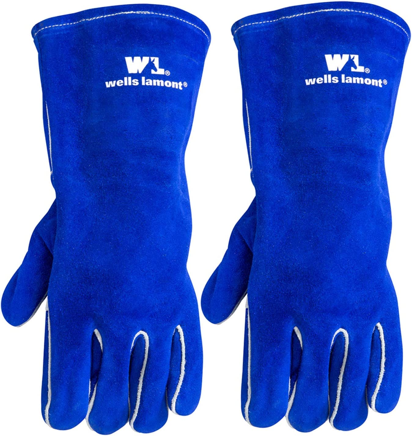 2 Pair Pack Left Hand Max 68% OFF Only Welding Gloves Arlington Mall Large Leather Lined
