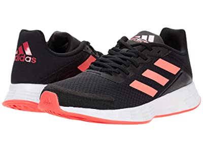 adidas Kids Duramo SL (Little Kid/Big Kid) (Core Black/Signal Pink/Team Royal Blue) Girls Shoes