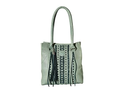 STS Ranchwear Marlowe Satchel (White) Handbags