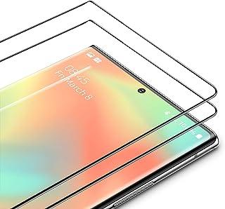 TAMOWA Skärmskydd för Samsung Galaxy Note 20 Ultra, 2-pack, 3D premium härdat glas 9H skyddande okrossbar film, repfri, an...
