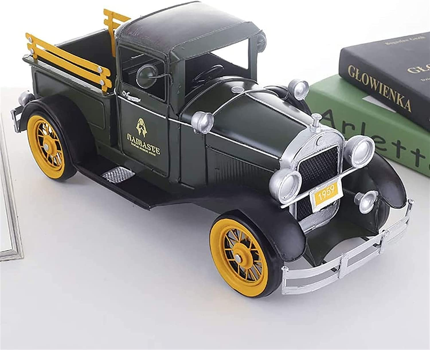 online shopping YJRIC Creative Decoration Wrought Iron Nordic Truck Model Pickup Spring new work