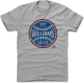 500 LEVEL Billy Williams Shirt - Vintage Chicago Baseball Men's Apparel - Billy Williams Ball