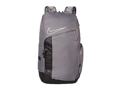 Nike Hoops Elite Pro Backpack (Gunsmoke/Black/White) Backpack Bags