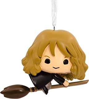 Hallmark Christmas Ornaments, Harry Potter, Hermione on Broomstick Ornament