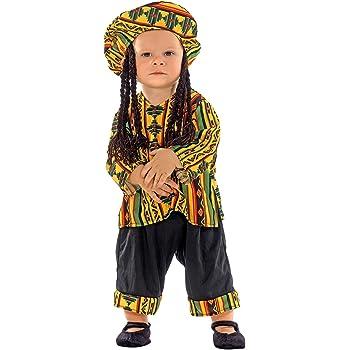 chiber Disfraces Disfraz Bebe Jamaicano (74 cm. (6-12 Meses ...