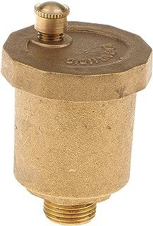 joyMerit Floor Heating Brass Automatic Hot Water Air Vent Valve Reliably Sealing - Brass, 1