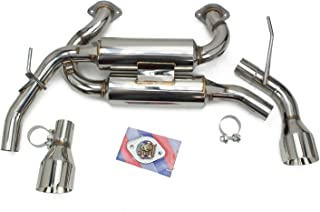 Rev9(CB-1004) FlowMAXXl Axle-Back Exhaust System, Stainless Steel, 60mm Pipe, made for Infiniti Q50 2014-19 All Models