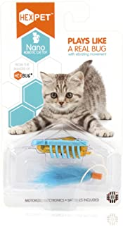 HEXBUG nano Robotic Cat Toy - Interactive Automated Cat Toy, Stimulate Hunting Instinct of Your Feline and Create Exe...