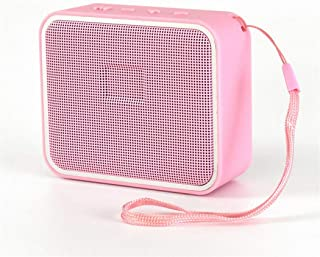New Bluetooth Speaker Fashion Colorful Wireless Mini Bluetooth Speaker Outdoor Portable Bluetooth Speaker,Pink