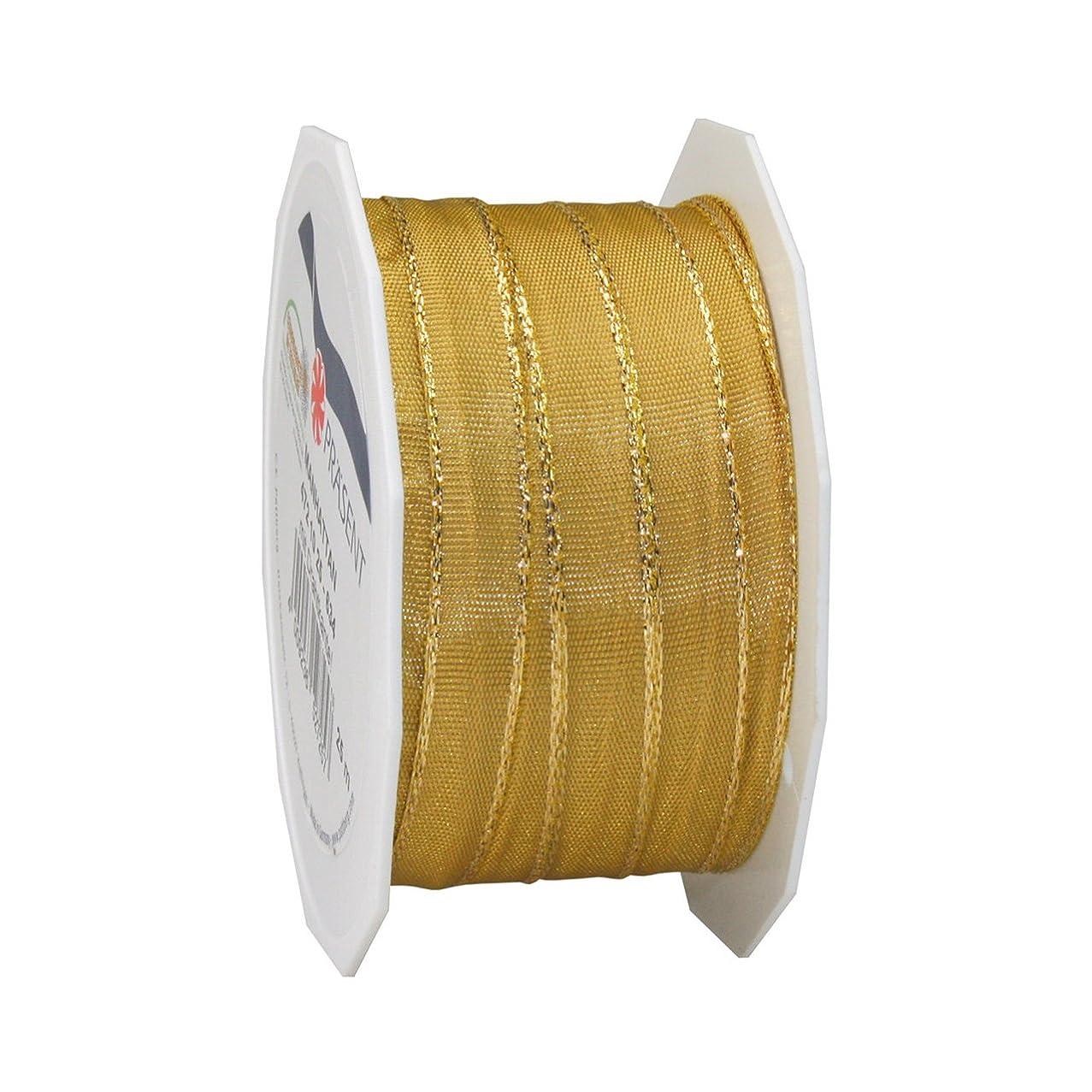 Morex Ribbon Manhattan Ribbon, 3/8 by 27-Yard, Gold