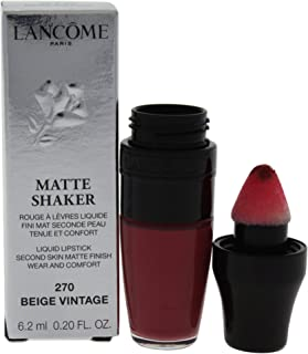 Lancome Matte Shaker Liquid Lipsticks 270 Beige Vintage.