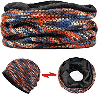 AMOH JERCY Multifunctional Slouchy Beanie, Scarf, Mask, Face Covering, Skull Cap for Daily Protection & Outdoor Activities