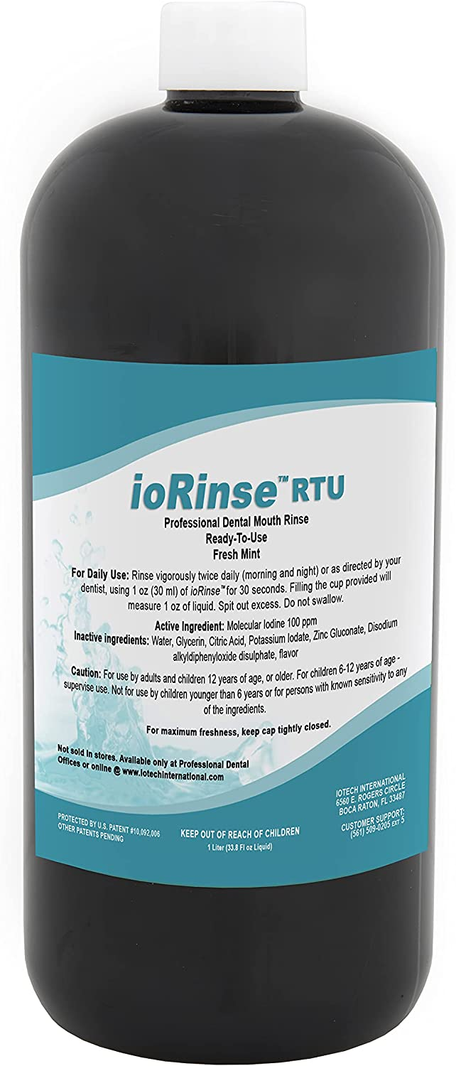 Iotech ioRinse Mouthwash - Soldering Get The Best [Alternative dealer] Clean Molec with Natural