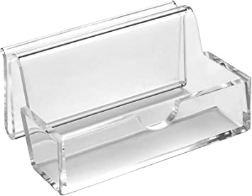 Osco Ts 120403 Acrylic Business Card Holder Amazon Co Uk Office Products