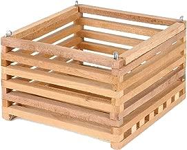 Sun Bulb 52720 Better GRO Square Cedar Basket, 8