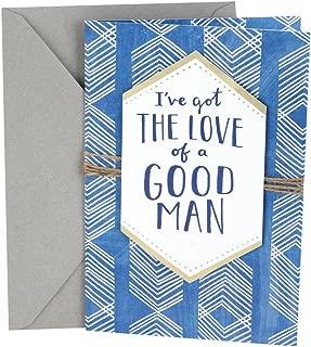 Hallmark Anniversary Card to Husband (Love of a Good Man)