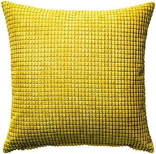 Ikea Cushion Throw Pillow Gullklocka Yellow Cover 20 X 20