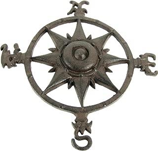 antique metal compass