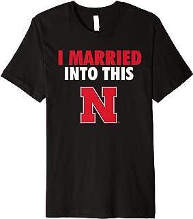 Nebraska Cornhuskers Married Into This T-Shirt - Apparel