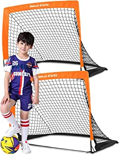 Dimples Excel Soccer Goal Pop up Soccer Goal Backyard for...