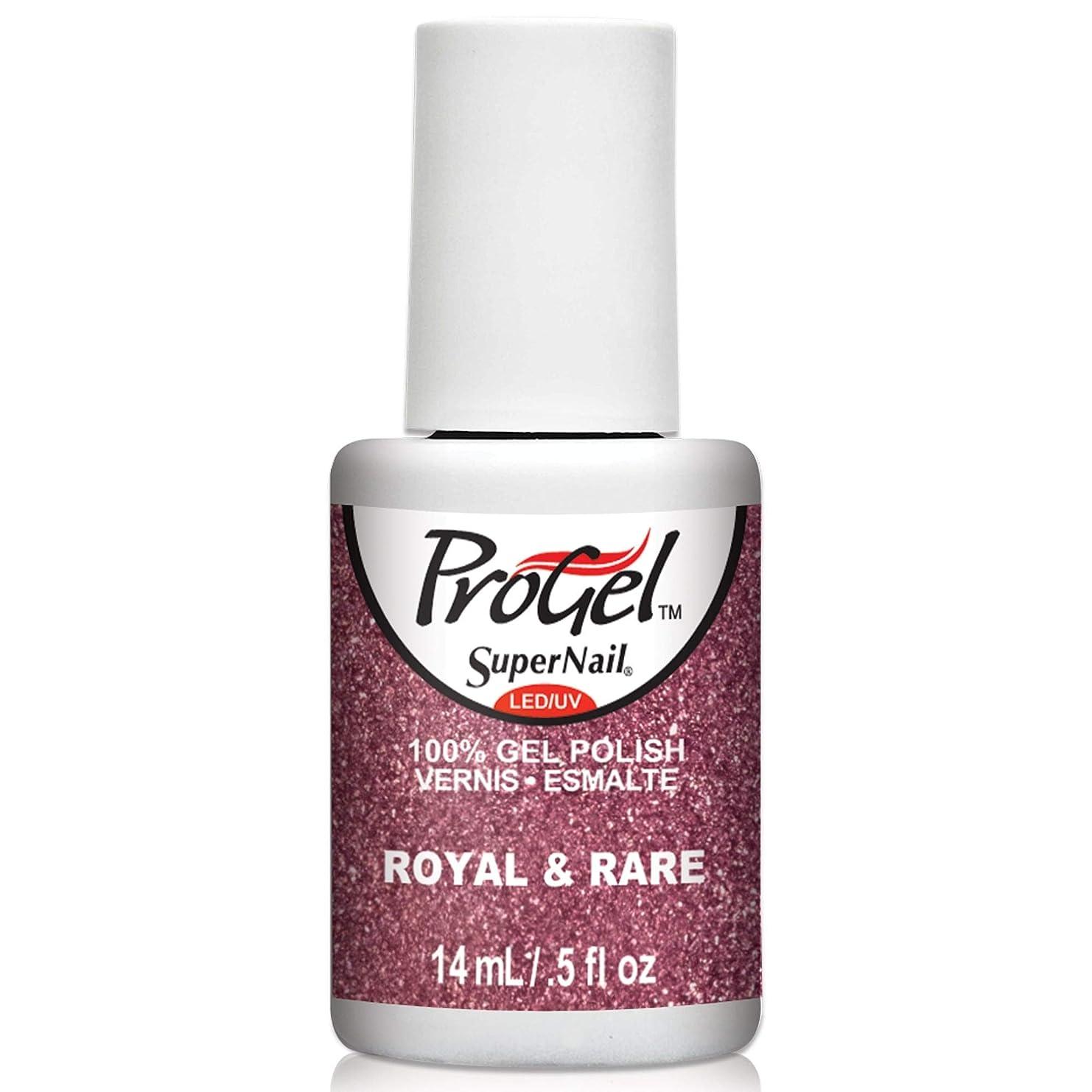 変わるローンバルーンSuperNail ProGel Gel Polish - Royal & Rare - 0.5oz / 14ml