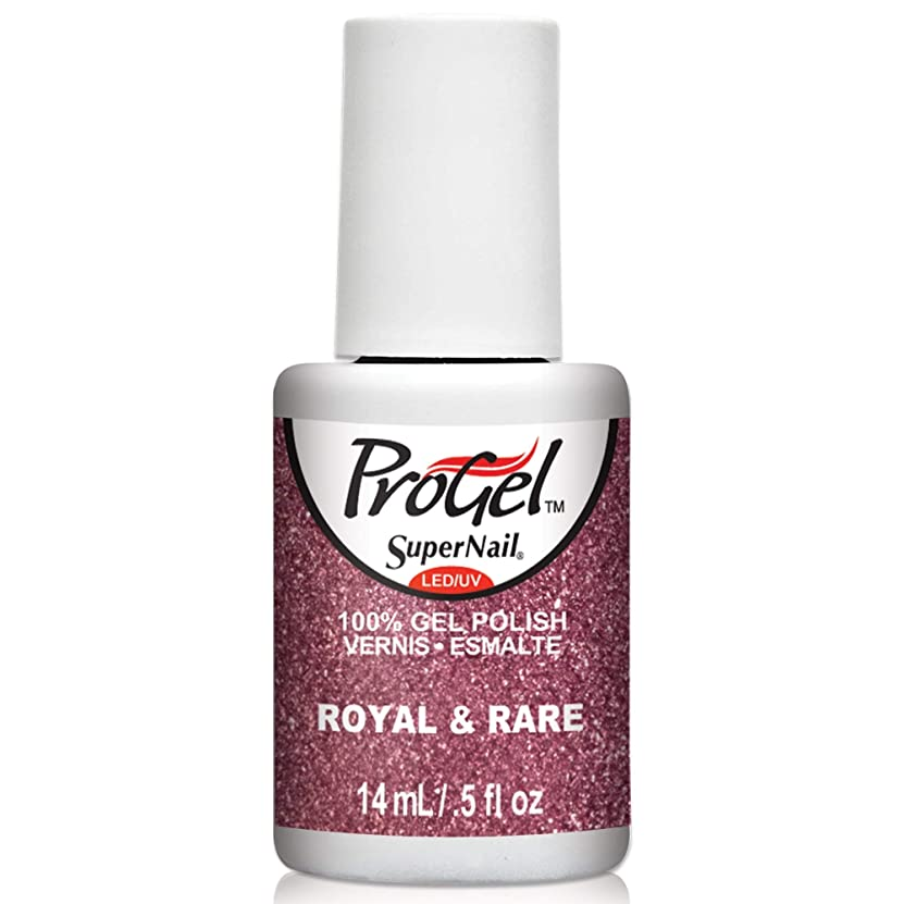 銀河首尾一貫したウミウシSuperNail ProGel Gel Polish - Royal & Rare - 0.5oz / 14ml