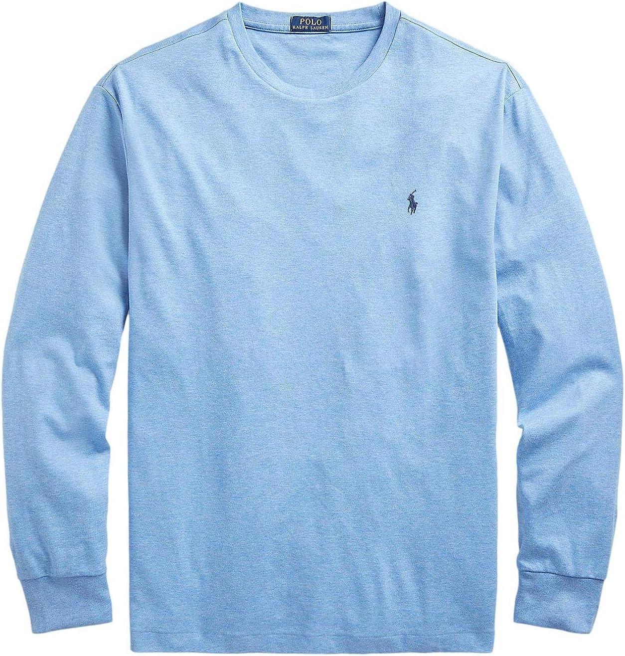 Polo Ralph Lauren Men's Crew High quality new Tee Long Sleeve sale Neck