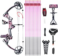 "Compound Bow Ship from USA Warehouse,Topoint Archery for Women, Package M1,19""-30"" Draw Length,10-50Lbs Draw Weight,Limbs ..."