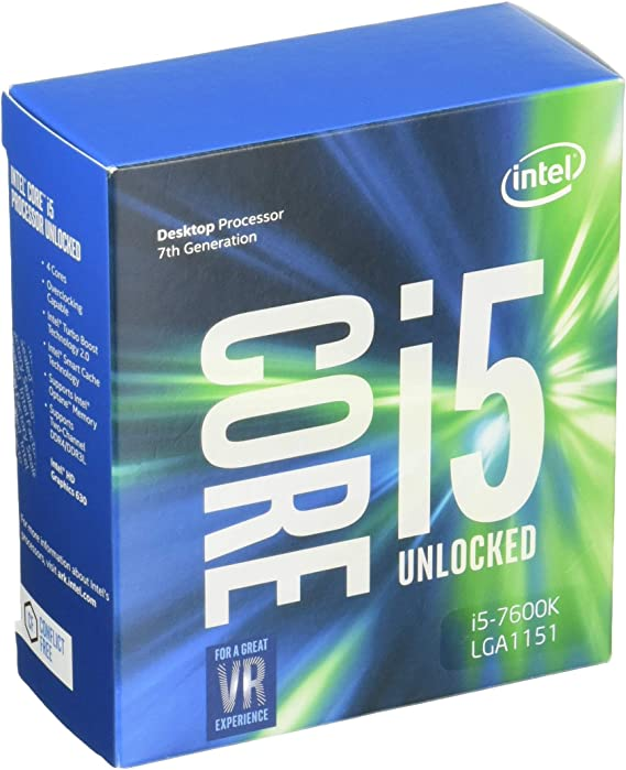 Amazon.com: Intel Core i5-7600K LGA 1151 Desktop Processors  (BX80677I57600K) : Electronics