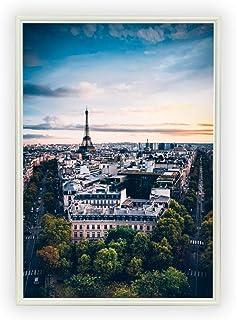 Aroma of Paris アートポスター おしゃれ インテリア 北欧 モノクロ アート #088 A4 ホワイトフレーム