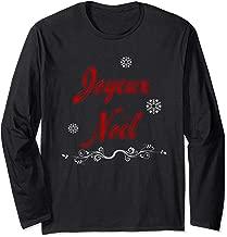 Joyeux Noel French Louisiana Cajun Merry Christmas Long Sleeve T-Shirt