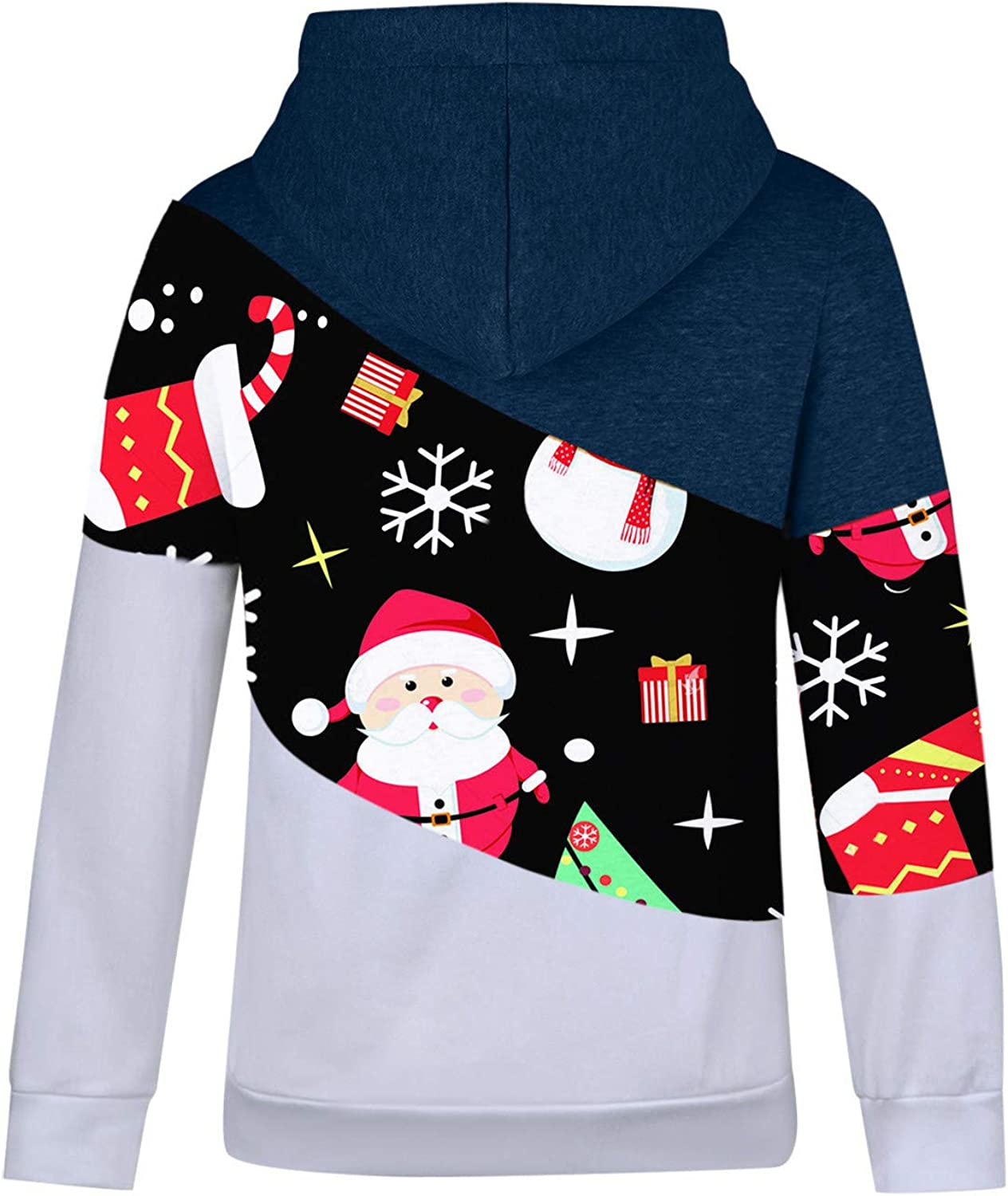 Spring new work one after another Hemlock Women Christmas Shirts Sweat Hooded Turtleneck Pullovers Sales results No. 1