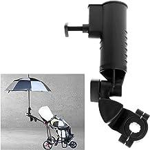 Nicoone Golf Paraplu Houder, Universele Paraplu Stand voor Golf Cart Handvatten,Verstelbare Paraplu Houder voor Fietswande...