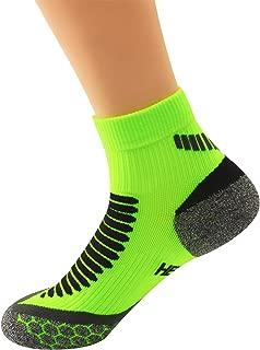 Natural Hemp Antibacterial & Anti-Odor Athletic Running Compression Socks 2 Pairs 10-15mmhg Low Cut Ankle Socks