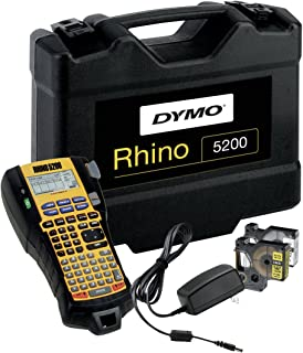 Dymo达美 Rhino 5200 - 带坚固硬质外壳 im Koffer 黑色