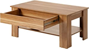 Modern Luxe ® Wooden Coffee Table Coffee Table Living Room Table with Storage Space