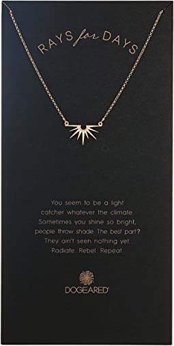 Dogeared - Rays For Days, Radiant Rays Charm Necklace
